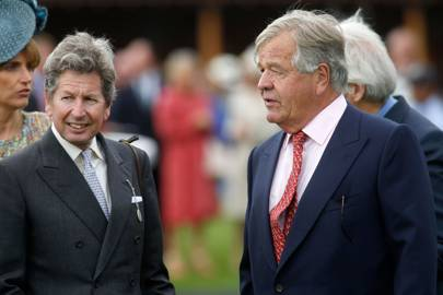 John Warren and Sir Michael Stoute