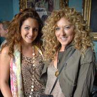 Natasha Corrett and Kelly Hoppen