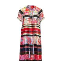 Silk-mix dress, £5,240, by Roberto Cavalli