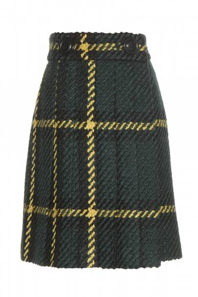 Skirt, £1,425, by Miu Miu at MyTheresa.com