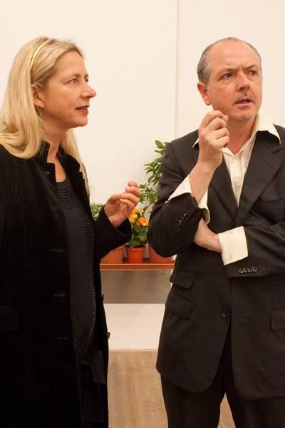 Iwona Blazwick and Adrian Dannatt