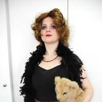 Gavanndra Hodge as Marchesa Casati, with pet leopard Leopardo III