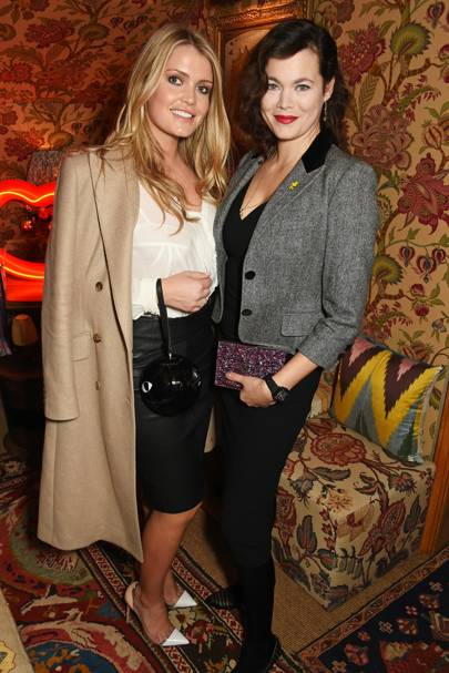 Lady Kitty Spencer and Jasmine Guinness