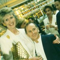 Clarissa Carleton-Paget and Wayne Sleep