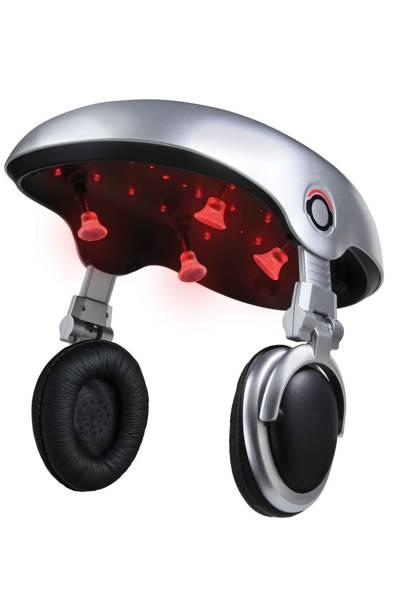 Music-playing hair-growing machine