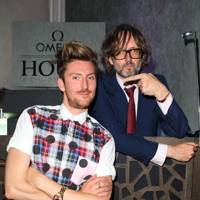 Henry Holland and Jarvis Cocker