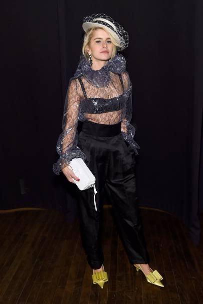 Caroline Daur attends Marc Jacobs