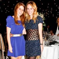 Princess Beatrice and Eveie Longdon