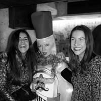 Eve Jones, Clare Bennett and Francesca White