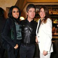 Serena Rees, Noel Gallagher and Sara MacDonald
