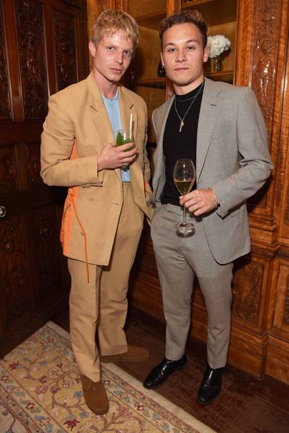 Charley Palmer Rothwell and Finn Cole