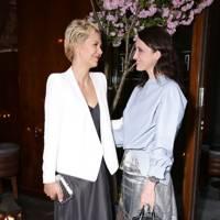 Maggie Gyllenhaal and Alessandra Facchinetti