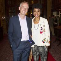 Dominic Cooke and Sophie Okonedo