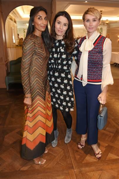 Noreen Goodwin, Tana Ramsay and Jo Manoukian