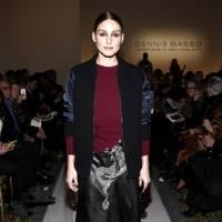 Olivia Palermo attends Dennis Basso
