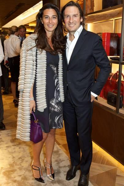 Elisabetta Beccari and Pietro Beccari