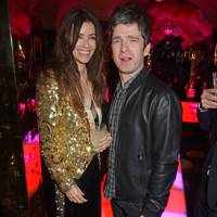 Sara Macdonald and Noel Gallagher