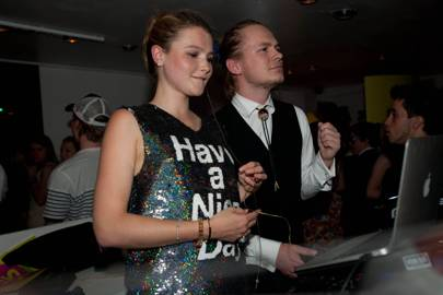 DJs Birch and Amber