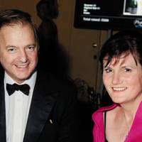 Hugo Swire and Vicky Tuck