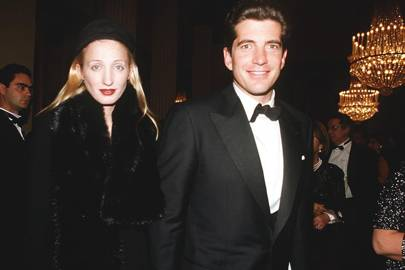 Carolyn Bessette Kennedy and John F Kennedy Jr, 1999