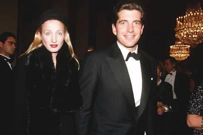 Carolyn Bessette Kennedy and John F Kennedy Jr, 1999