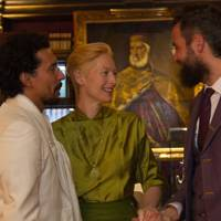 Haider Ackermann, Tilda Swinton and Sandro Kopp