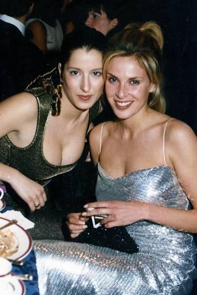Princess Tamara Czartoryska de Bourbon and Arabella Bodie