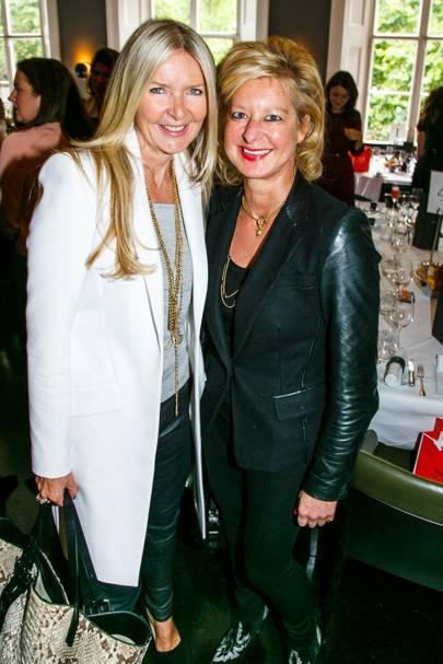 Amanda Wakeley and Alison Jackson