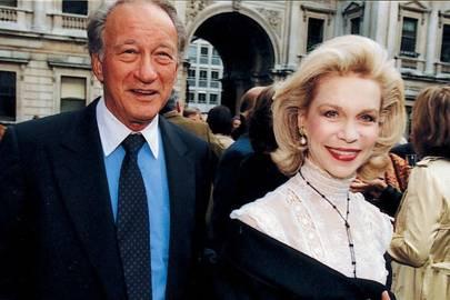 Sir Mark Weinberg and Mrs Oscar Wyatt
