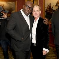 Edward Enninful and Sarajane Hoare