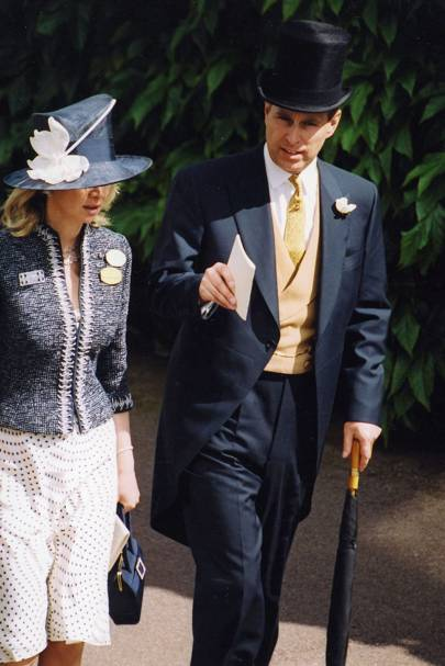 The Countess of Derby and the Duke of York