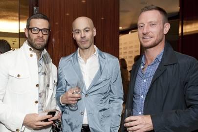 Rui Ribeiro, Raymond Paynter and Terry Oliver