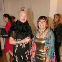Wendy Dagworthy and Hilary Alexander