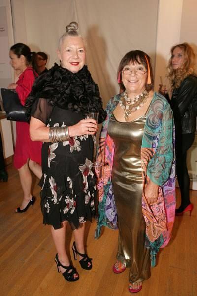 Wendy Dagworthy and Hilary Alexander