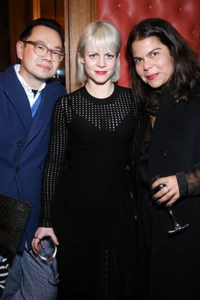 Kullawit Laosuksri, Jaime Perlman and Daniela Falcao