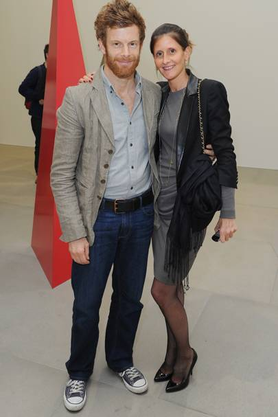 Tom Aikens and Justine Dobb