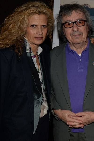 Suzanne Accosta and Bill Wyman