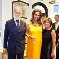 Prince Michael of Kent, Kirat Young and Sarinah Paris
