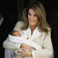 Queen Letizia of Spain and Crown Princess Leonor of Spain