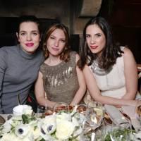 Charlotte Casiraghi, Josephine de la Baume and Tatiana Casiraghi