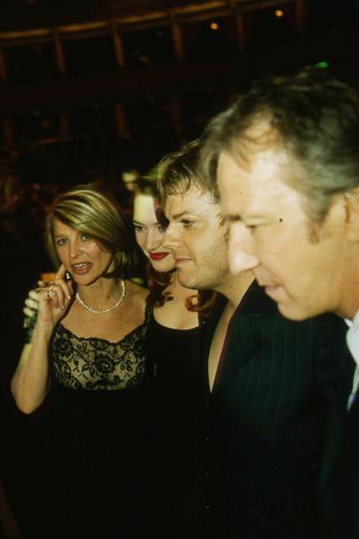 Julie Christie, Kate Winslet, Eddie Izzard and Alan Rickman