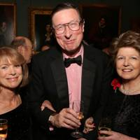 Lady Hastings, Sir Max Hastings and Lady Guthrie