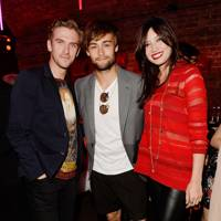 Dan Stevens, Douglas Booth and Daisy Lowe