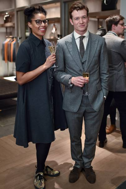 Holly Grant and Ed Speleers