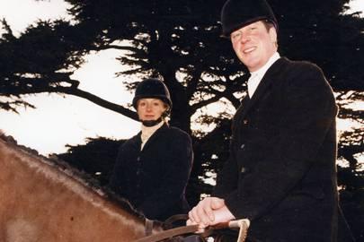 Mrs Charles Ropner and Charles Ropner
