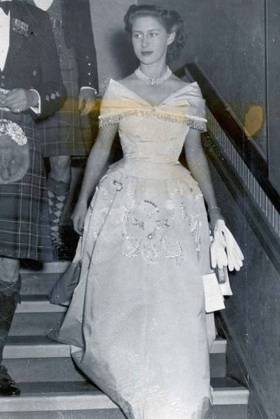 1948: At a ball in Edinburgh
