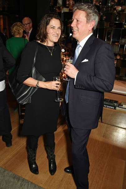 Tracey Emin and Jussi Pylkkanen
