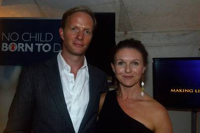 Rupert Penry-Jones and Dervla Kirwan