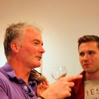 Simon Page and Dan Llewelyn Hall