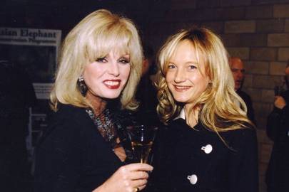 Joanna Lumley and Flora Montgomery
